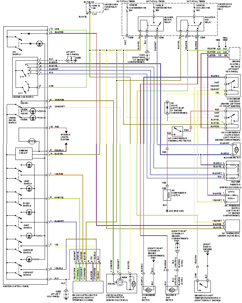 ac wiring diagram d16z6 diagram wiring diagrams for diy car repairs d16z6 wiring harness diagram at fashall.co